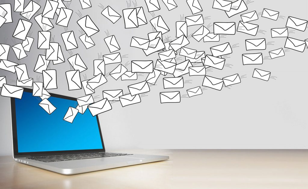 Types of Emails Section