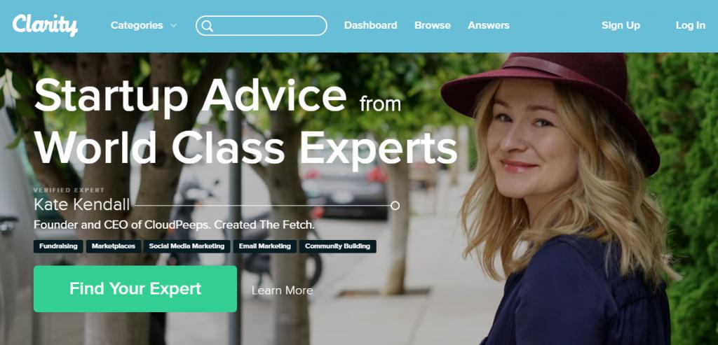 Website of Clarity